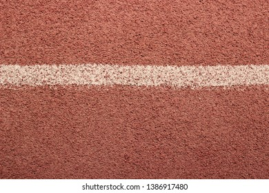 sports red cover with white stripe, texture for your design, background