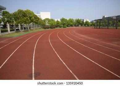 Sports runway