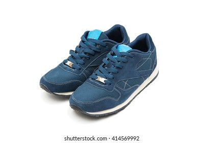sports shoes on a white background
