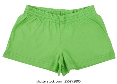 Sports shorts. Isolated on a white background.