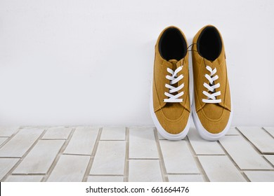 sports sneakers isolated