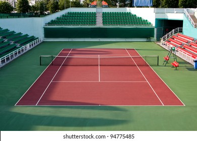 Sports tennis arena