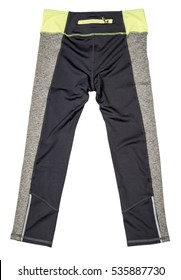 Sports trousers on a white background. Clothing. Sport
