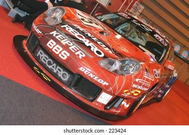 sportscar at Birmingham NEC car show 2005