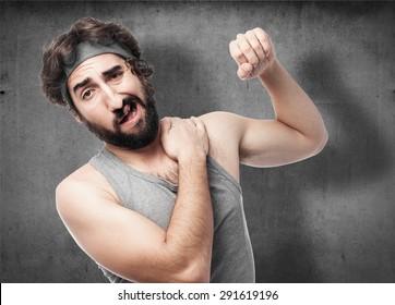 sportsman shoulder pain