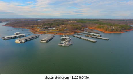 Sportsmans Marina on Lake Hartwell