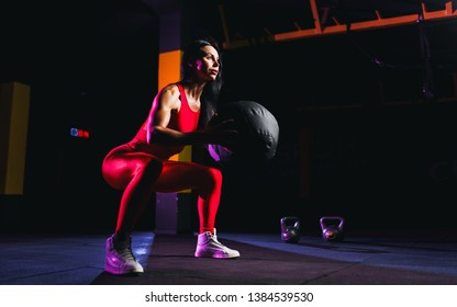 Medicine Ball Squat Stock Photos, Images & Photography | Shutterstock