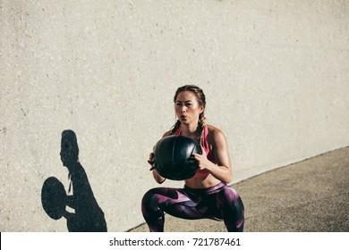 Medicine Ball Squat Stock Photos, Images & Photography | Shutterstock