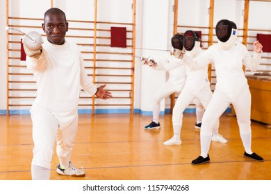 Fencing-techniques Images, Stock Photos & Vectors | Shutterstock