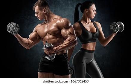 Man Woman Gym Images, Stock Photos & Vectors | Shutterstock