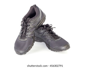 Sporty shoes for men's on the white background