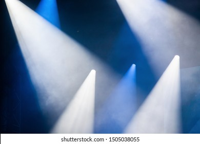 spot light or stage lights background with copy space