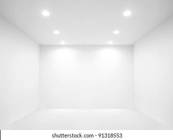 Spotlight and empty space