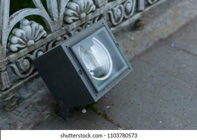 Spotlight facade lighting