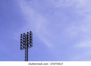 Spotlight on the sky