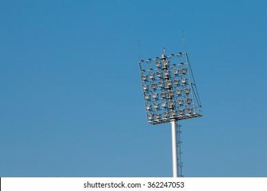 Spotlight tower