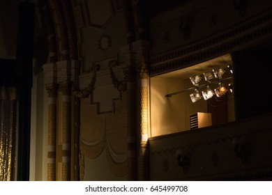 Spotlights for stage light in the theater