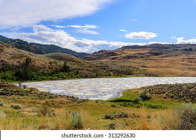 Spotted lake Osoyoos British Columbia