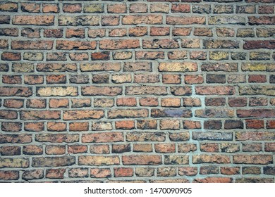 Spotty emphatic brick wall background
