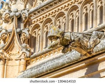Spout at Monasterio de San Juan de los Reyes at Toledo, Spain