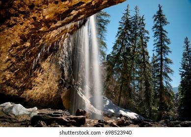 Spouting Rock Waterfalls, near hanging lake, Colorado