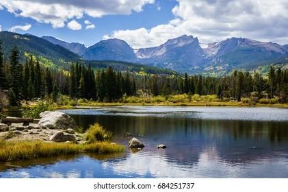 Sprague Lake Rocky Mountain National Park