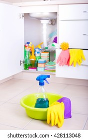 Cleaning Supply Cabinet Images Stock Photos Vectors Shutterstock