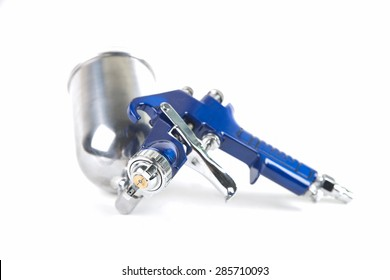 Spray gun isolated over a white background
