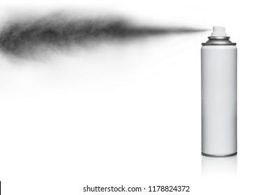 Spray, isolated on white background