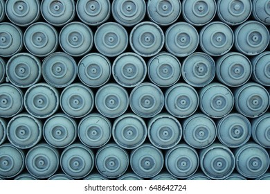 Spray paint cans background