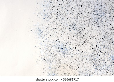 spray paint - creative design spot dot black white blue gray background