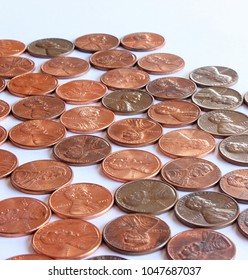 Spread of Pennies