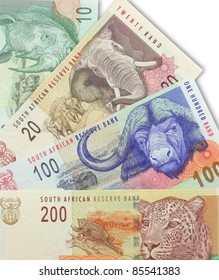 A Spread of South African Notes