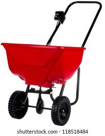 spreader for fertilizer, seed and road salt