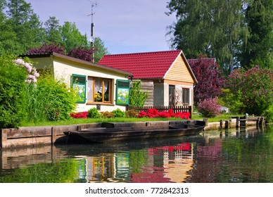 Spree Forest house on the water, Brandenburg