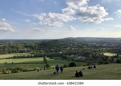 Spring Afternoon at Box Hill