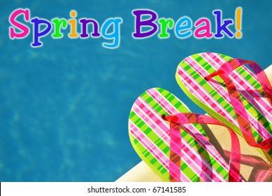 Spring Break Concept