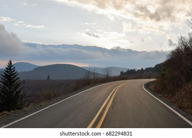 Spring drive along the Blue Ridge Parkway