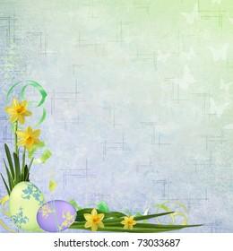 Spring or Easter background