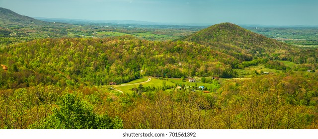 Spring, from Foothills Parkway
