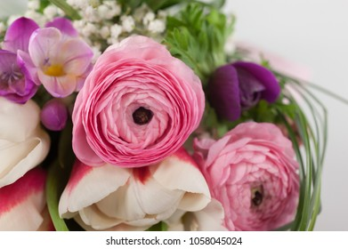 spring with fragrant flowers