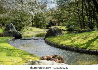 Spring in Garden, Hasselt, Belgium