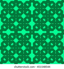Spring green abstract background, striped textured geometric seamless pattern