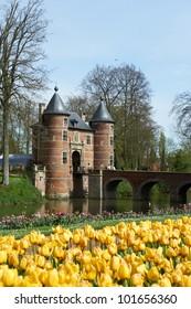 Spring in the Groot-Bijgaarden (Grand-Bigard) Castle, Belgium