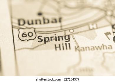Spring Hill. West Virginia. USA