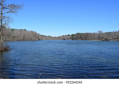 Spring Lake in Wall Doxey State Park, Mississippi