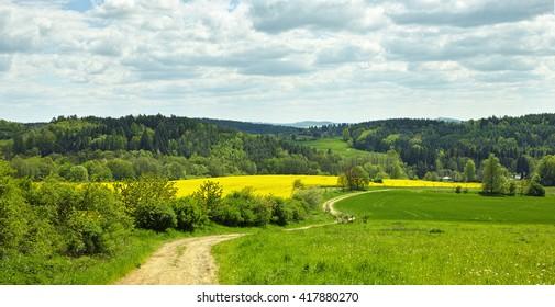 Spring Landscape (Czech Republic)