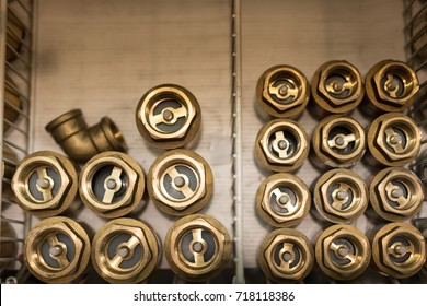 A Spring loaded brass check : check valve, clack, non-return, reflux or one-way valve is a valve that normally allows fluid (liquid or gas) to flow through it in only one direction.
