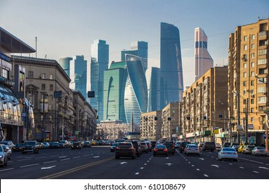 spring in Moscow, Russia