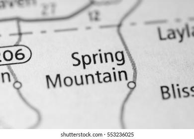 Spring Mountain. Ohio. USA